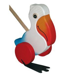 BABY-PLUS Schiebetier Pelikan weiß