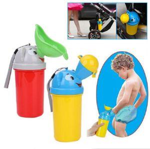 Tragbare Kunststoff Urinal Toilette Outdoor Reise Kinder Pee Flasche für Jungs