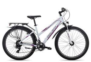 Ciclista Adventure 26 Trapez, Farbe:white violet grey, Rahmengröße:43 cm, Laufradgröße:26 Zoll