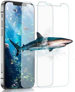 2x iPhone 12 / iPhone 12 Pro Panzerglas Schutzfolie Display Schutzglas 9H Panzerfolie Klar