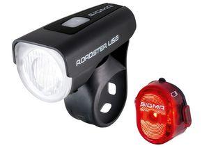 Sigma Beleuchtungsset Roadster USB / Nugget II