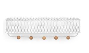UMBRA Garderobe ESTIQUE Garderobenleiste mit Ablage weiß 1004245-660