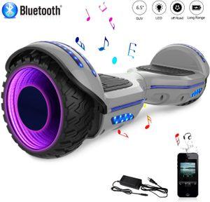Hoverboard, 6,5 LED und Bluetooth mit 2*350W Motorbeleuchtung hip hop Neues Modell Spielzeug und Geschenk für Kinder Elektroscooter self balance scooter E-Skateboard Elektroroller