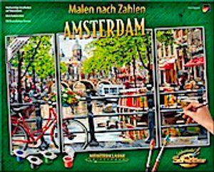 Schipper 609260812 Malen nach Zahlen Triptychon Amsterdam