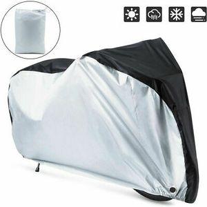 Fahrradabdeckung Regenschutz Wasserdicht Fahrradgarage Fahrradschutzhülle 170X60X85cm