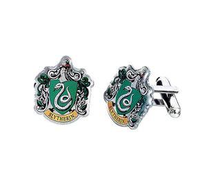 Harry Potter - Manschettenknöpfe Slytherin Wappen