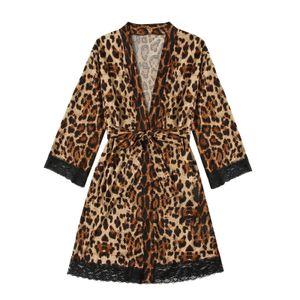 Satin Silk Pyjamas Frauen Nachthemd Dessous Roben Unterwäsche Nachtwäsche y Größe:M,Farbe:Braun