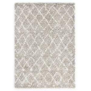 Hochflorteppich Teppich Berberteppich Hochflor PP Sandfarben und Beige 120 × 170 cm