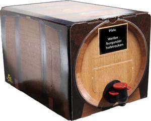 Weißer Burgunder halbtrocken  Bag in Box 5L