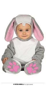 Fiestas Guirca kostüm Kleiner Hase Polyester rosa Größe 86-92