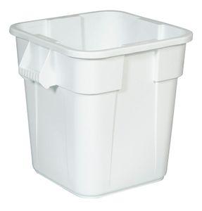 Rubbermaid BRUTE 3526, 106 l, Quadratisch, Lineares Polyethylen mit niedriger Dichte (LLDPE), Weiß, UV, 564 mm