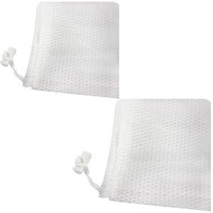 2 Stück Große Wäschenetze bis 3KG Wäsche 61x91cm Wäschenetz für die Waschmaschine sowie zur Aufbewahrung, Wäschesack Wäschetasch