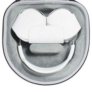 Schutz Hülle für Airpods Max Kopfhörer Tasche Hartschale Reiseetui Box Hard Case Tragetasche Aufbewahrungstasche Reisetasche Zubehörfächer