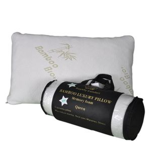 Royalty Comfort HG-5076BM: Luxuskissen aus Bambus mit Ergonomischem Memory Foam - Queen