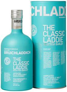 Bruichladdich The Classic Laddie Scottish Barley Unpeated Islay Single Malt Scotch Whisky | 50 % vol | 0,7 l