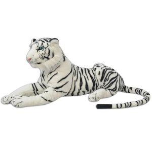 Tiger Plüschtier Weiß XXL