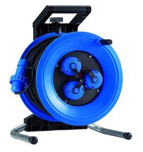 HEDI K3000TD Kunststoff-Kabeltrommel Professional Plus 320,  leer, blau ***NEU***