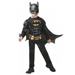 Rubie's Batman Kostüm Jungen schwarz Größe 116
