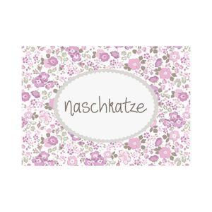 mea living - Postkarte Quer -Naschkatze-