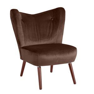 Max Winzer Sari Sessel - Farbe: braun - Maße: 70 cm x 69 cm x 86 cm; 30151-1100-2044201-F07