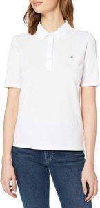 Gant Damen Poloshirt The Original Pique Unifarben, Größe:M, Farbe:Weiß(110)