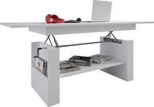 Couchtisch höhenverstellbar Wohnzimmer Tisch Beistelltisch Sofatisch Stubentisch