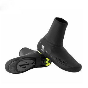 ROCKBROS Fahrrad Überschuhe Winter Shoecovers Shoes Cover Warm wasserabweisend reflektierend 42-46