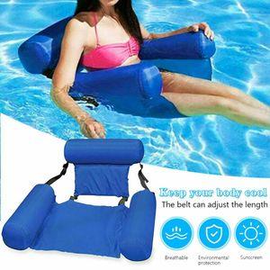 Pool Sessel Aufblasbar Schwimmsitz Poolsitz Wassersessel Wasser Luftmatratze