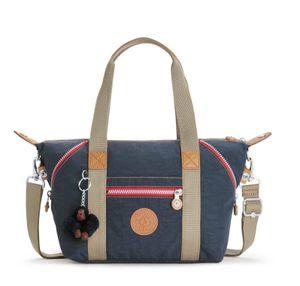 kipling Basic Eyes Wide Open Art Mini Handbag True Navy Combo