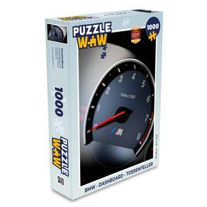 Puzzle 1000 Teile - BMW - Armaturenbrett - Tachometer