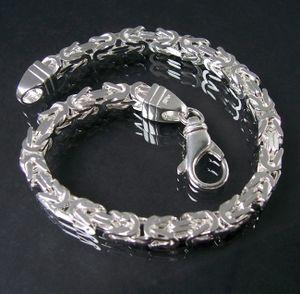 Königsarmband Königskette Sterlingsilber 23cm x 5mm Schmuck 14050-23