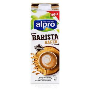 Alpro Barista Hafer 1L - Biologischer Haferdrink - Aufschäumbar (1er Pack)