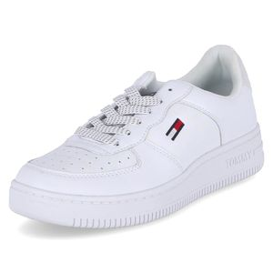 Tommy Hilfiger Sneaker Low  REFLECTIVE BASKET Weiß Damen