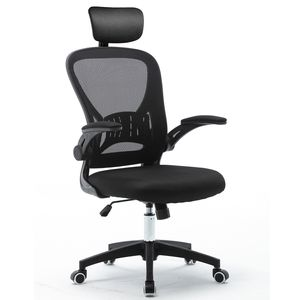 Bürostuhl schwarz Ergonomischer fürs Büro aus Bürostuhl mit Armlehne Drehstuhl