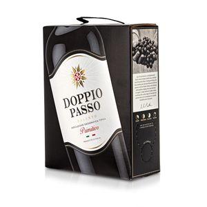 Bag-in-Box - 2019 Doppio Passo Salento Primitivo IGT 3 L, Box mit:1 Box