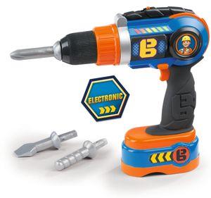 Smoby Bob der Baumeister Elektronischer Akkuschrauber,360130