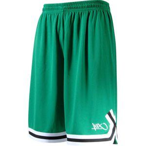 K1X Double X Basketball Shorts, Farbe:Grün, Kleidergröße:3XL