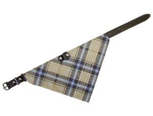 Nobby Halsband mit Tuch, braun, L: 35 cm; 74201-03