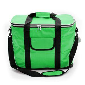 Kühltasche 30L mit Schultergurt, XXL isolier Kühlbox - Grün