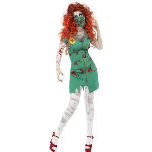 Halloween Damen Kostüm Zombie Krankenschwester Zombiekostüm Gr.S