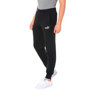 Puma Jogginghose Herren ESS Logo Pant, Größe:XL, Farbe:Schwarz