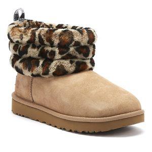 UGG Damen Boots  Leder beige 36