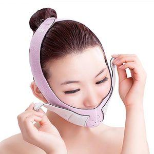 Doppelkinn Abnehmen, V Gesicht Shaper Maske, Gesichtsformer Bandage, Anti-Falten und Haut zu Straffen, Doppelkinn zu Abnehmen Maske
