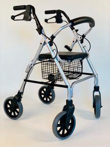 Dietz LIGERO Leichtgewicht-Rollator - EINKAUFSROLLATOR mit niedrigem Gewicht von nur 7,8 kg - 51 cm - *TOP PRODUKT ZUM TIEFPREIS*