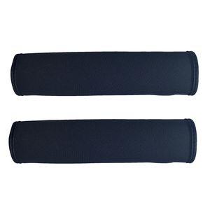 2x Schwarzer Auto Sicherheitsgurt Schulterpolster Schulterkissen Autositze Gurtpolster Gurtschutz für Kinder und Erwachsene- HECKBO