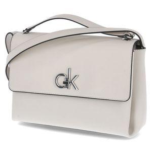 Calvin Klein Handtasche FLAP TOP H MD Beige Damen