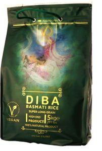 DIBA Basmati Reis, Original 5kg