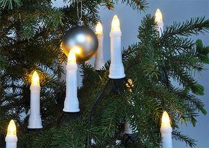 Lichterkette 30 LED außen innen Lichterschlauch Christbaumlichterkette Deko