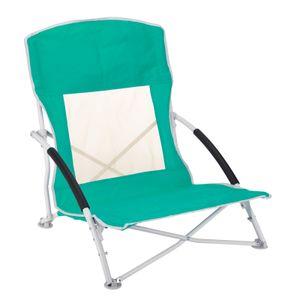 Strandstuhl, Campingstuhl, Klappstuhl mit Tragetasche Klapp Stuhl belastbar bis 110kg Klappsessel Strandliege Liege Mint 1 Stück