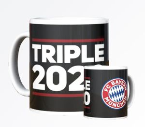 FC Bayern München Tasse Triple 2020